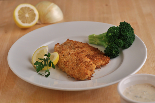 Parmesan Crusted Tilapia With Remoulade Sauce Southern
