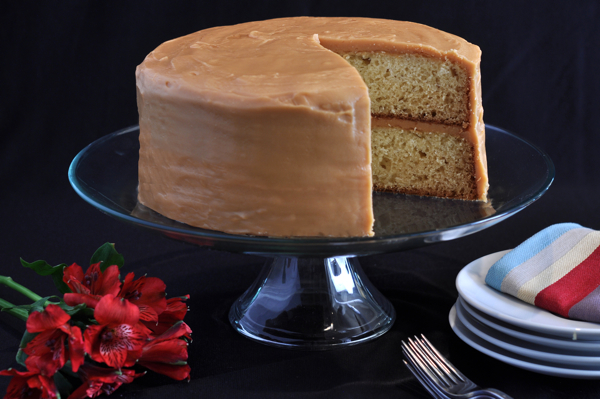 Caramel Cake Southern Boy Dishes