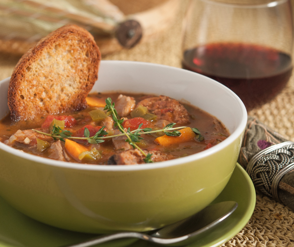 Duck and Sweet Potato Gumbo