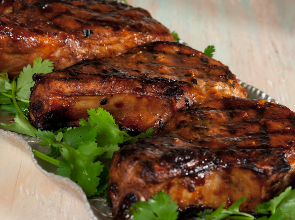... hoisin glazed pork chops with thai hoisin and honey glazed pork chops