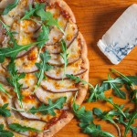Pear and Gorgonzola Pizza 2