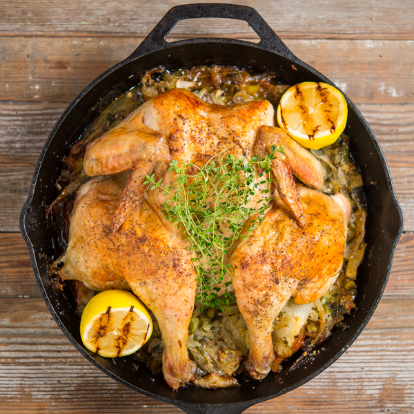 Skillet Roasted Chicken 2