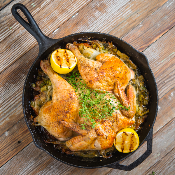 Skillet Roasted Chicken Southern Boy Dishes