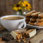 Biscotti with Dried Cherries, Macadamia Nuts, and  White Chocolate