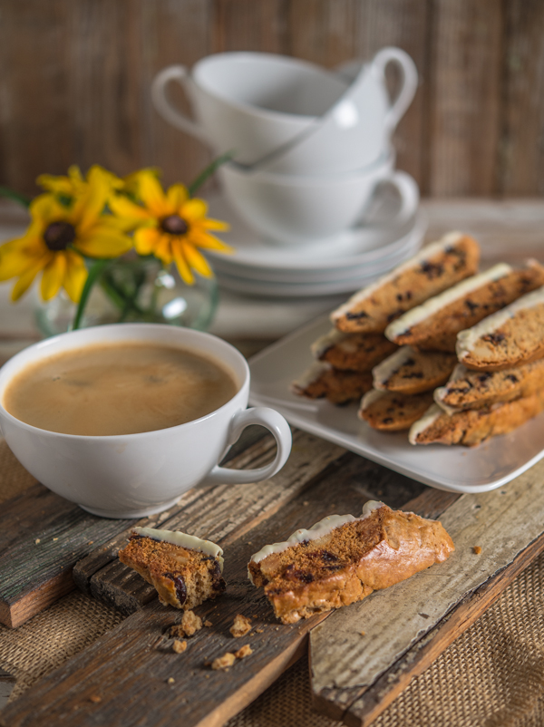 Whole Wheat Biscotti with Dried Cherries and Macadamia Nuts