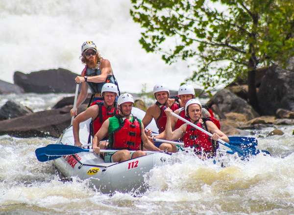 Rafting on the Ocoee River