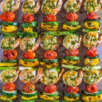 Shrimp Kabobs with Pistachio Tarragon Pesto