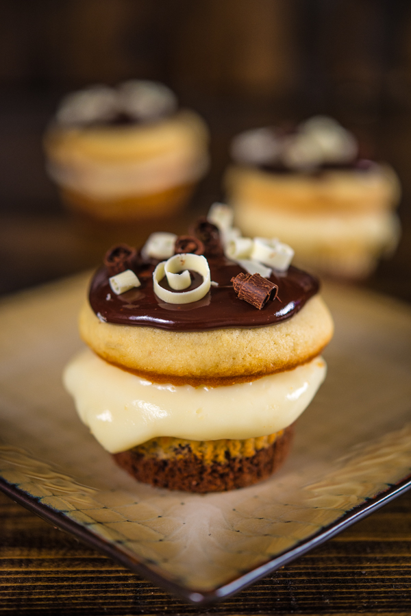 Boston Cream Cupcakes | Southern Boy Dishes