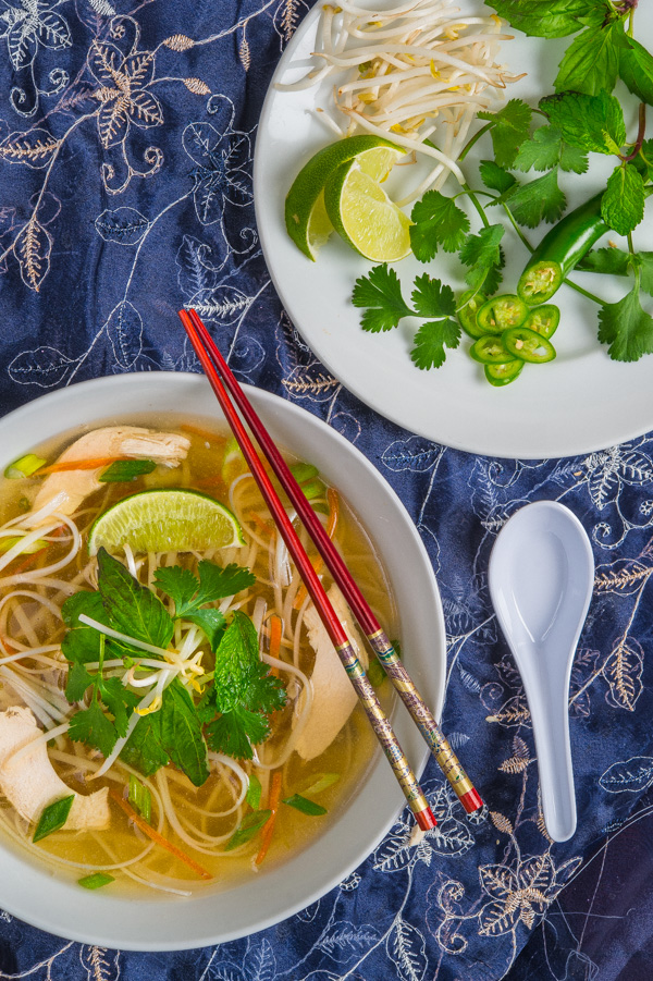 Pho Ga (Vietnamese Chicken Noodle Soup) | Southern Boy Dishes