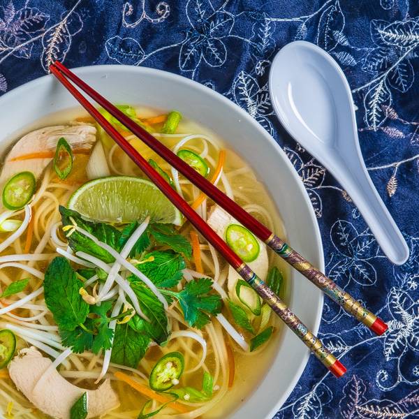Pho Ga Vietnamese Chicken Noodle Soup Southern Boy Dishes