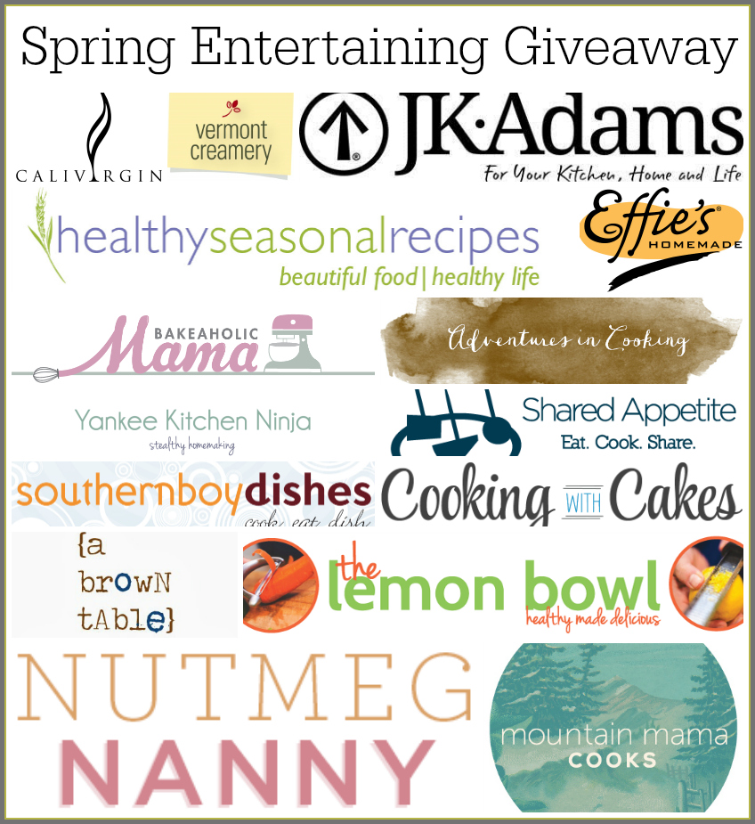 Spring Giveaway Sponsors and Bloggers