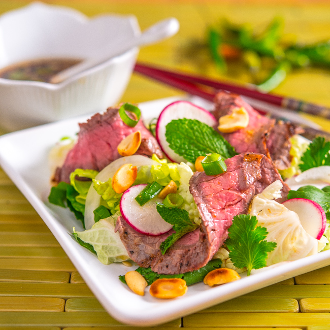 Grilled Thai Beef Salad | Southern Boy Dishes