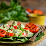 Green Goddess Chicken Salad with Fennel and Red Pepper