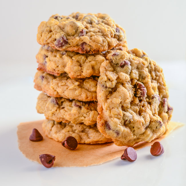 Kiki's Chocolate Chip Oatmeal Cookies