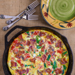 Bacon-Mushroom Frittata {Plus a Cookbook Giveaway}