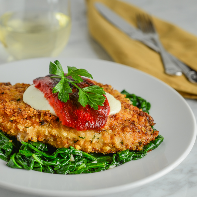 recipe: roasted red pepper chicken [36]