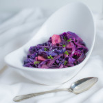 Braised Red Cabbage and Apples
