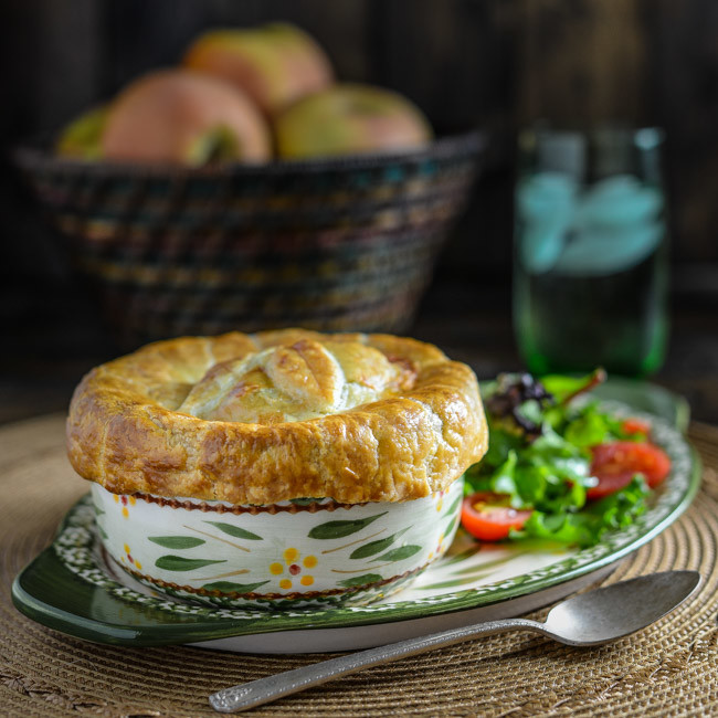 Chicken Gumbo Pot Pie