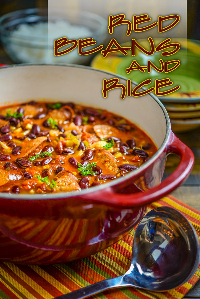 Red Beans and Rice | Southern Boy Dishes