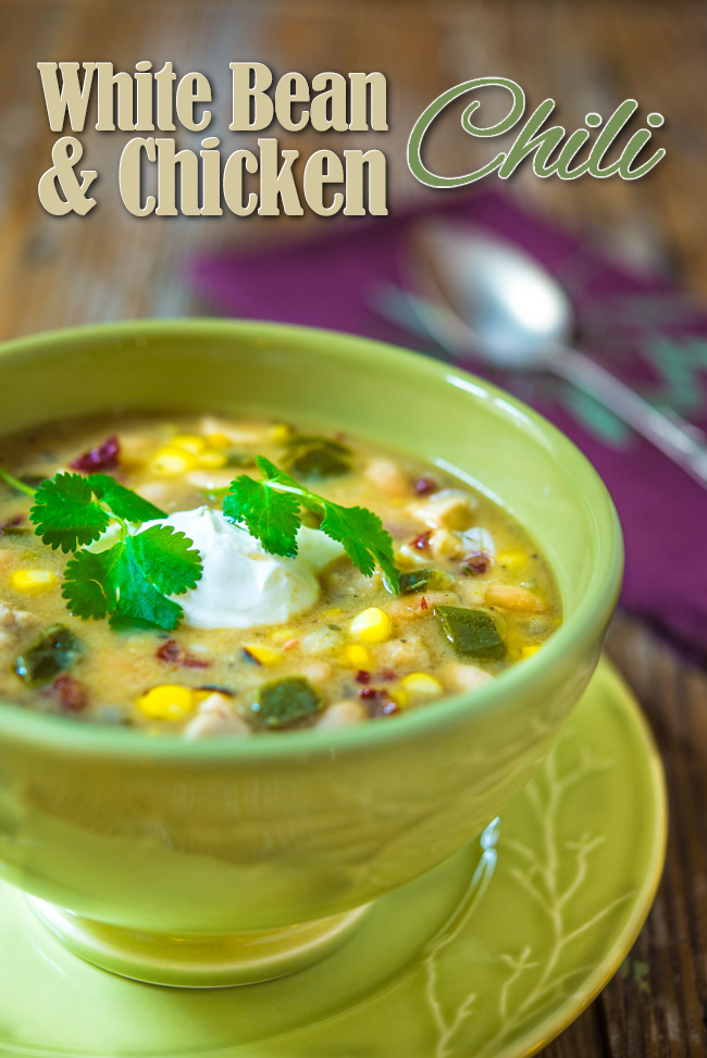 White Bean and Chicken Chili | Southern Boy Dishes