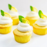 Lemon Icebox Cupcakes