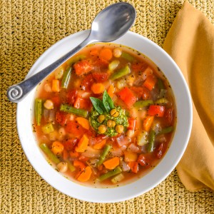 Mediterranean Garbanzo Bean Soup