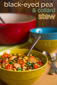 Black-Eyed Pea and Collard Stew